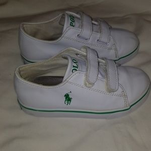Polo shoes with velcro